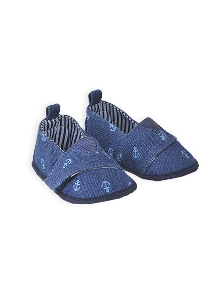 Pumpkin Patch - footwear - baby boy denim shoe - S4FW10003 - denim - 1 to 5
