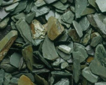 Slate Chippings - Green