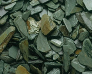 Slate Chippings - Green