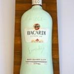 Bacardi bottle cake  www.thelittlevillagecakery.co.uk