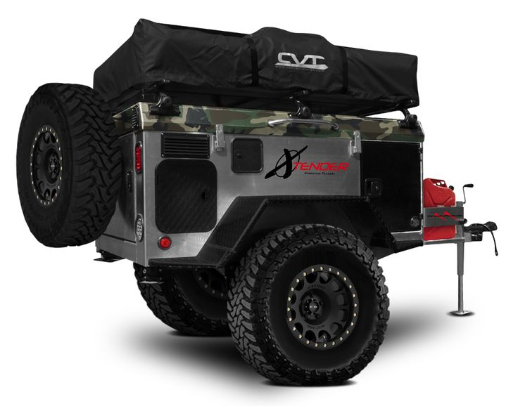 VMI Offroad OX custom trailer build for DefconBrix - Tacoma World Forums