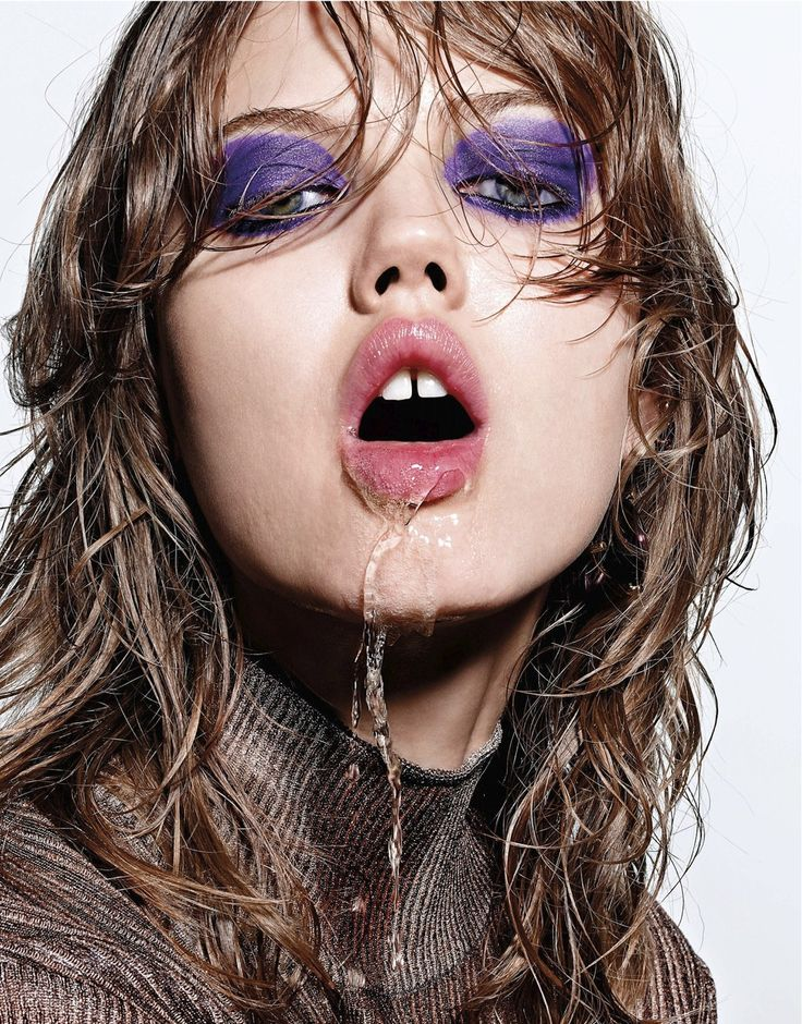 "blissfully-chic: Lindsey Wixson in ""Closer"" for Interview Magazine, September 2014 Photographed by Richard Burbridge"