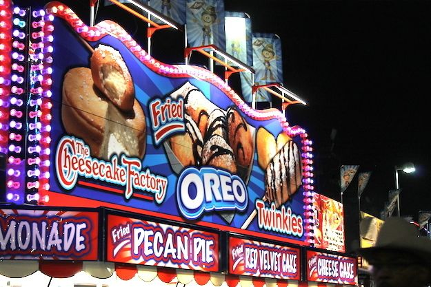 There is a whole lot of food at the Houston Rodeo. A haven for some, a nightmare for others, here is everything you can eat at the world's largest rodeo.