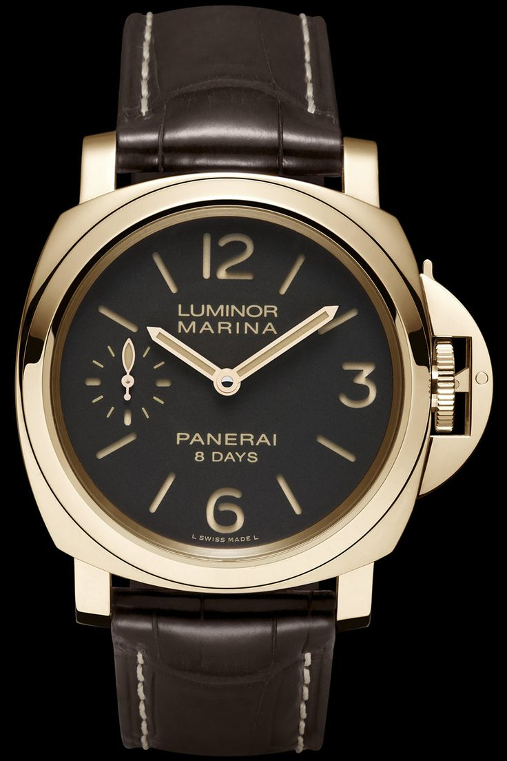 LUMINOR MARINA 8 DAYSORO ROSSO PAM00511 - Collection LUMINOR - Watches Officine Panerai