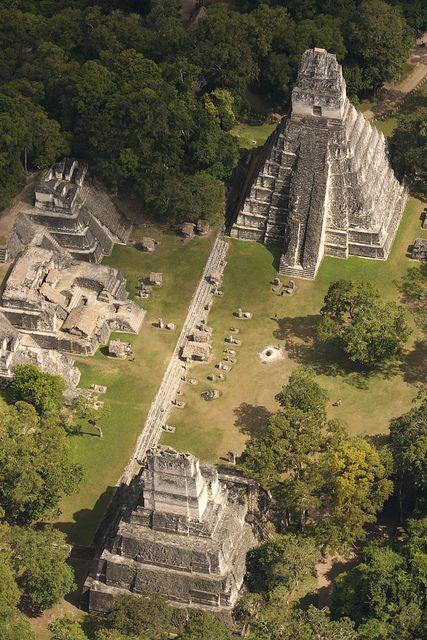 Mayan ruins of Tikal, Guatemala by VisitGuatemala
