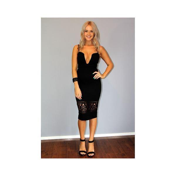 17 best ideas about Knee Length Black Dress on Pinterest   Casual ...