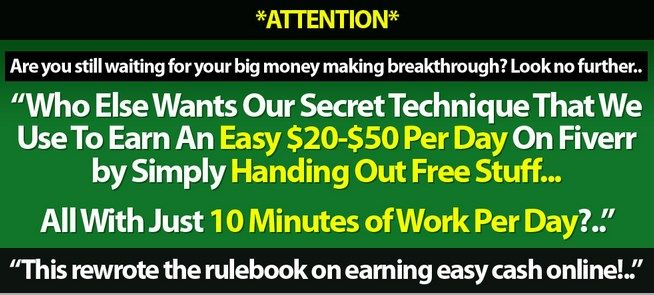 The Fiverr Handover 2.0 Review – Proven Secret Technique On How to Earn An Easy $20 to $50 Per Day On Fiverr By Simply Handing Out Free Stuff All with Just 10 Minutes Per Day...  Check Detail: http://www.releasedl.com/the-fiverr-handover-2-0-review/