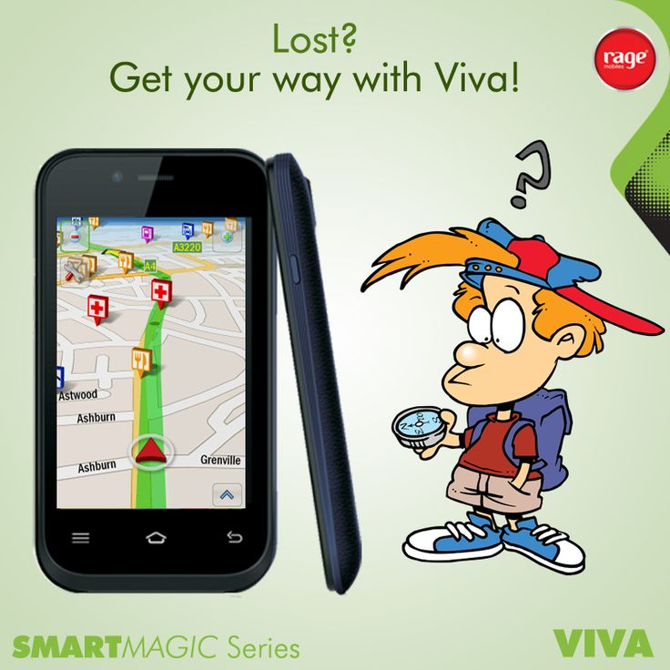 Lost?? Get your way with Viva!  #Rage_Mobiles #SmartMagic_Series  To Know More About Viva : http://goo.gl/p7X7fJ