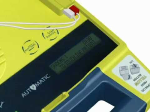 AED Automated Defibrillator voice prompts - YouTube