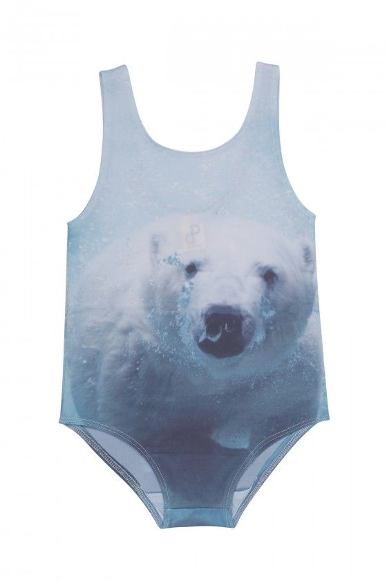 Polar Bear Swimsuit Popupshop Fashion For Girls