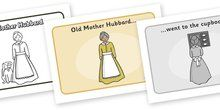 Old Mother Hubbard Sequencing - Old Mother Hubbard, nursery rhyme, rhyme, rhyming, nursery rhyme story, nursery rhymes, Old Mother Hubbard r...