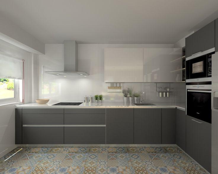 Interiores De Cocinas Modernas. Cheap Cocinas Comedor Modernas Diseo ...