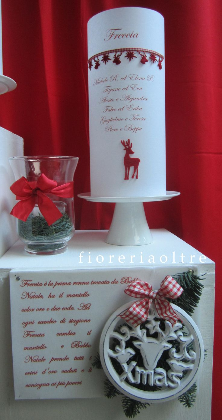 Fioreria Oltre/ Wedding at Christmastime/ Paper lantern table seating plan/ Tableau de mariage
