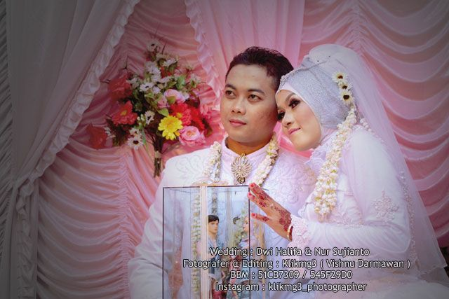 Klikmg3 Photography: Wedding : Dwi Halifa & Nur Sujianto | Fotografer :...