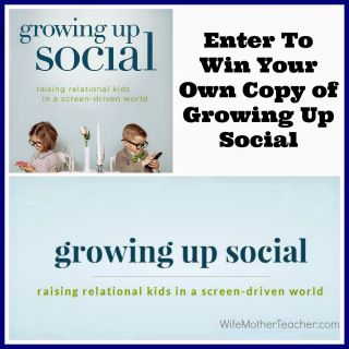 Growing Up Social Book Giveaway! (USA & CAN - Ends Jan 31, 2015) - Glam Granola Geek