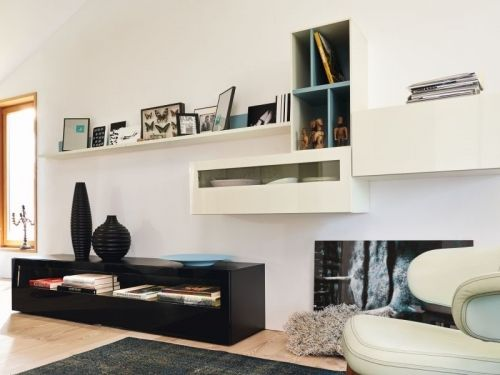 Now! by Hülsta living room combination