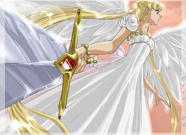 Princess Serenity. She's a fighter, that one.
