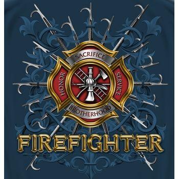 Firefighter Brotherhood T-shirt   Firefighter Apparel   Firefighter.com