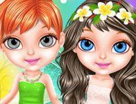 Baby Barbie Fairy Salon - Girls Games Online Play