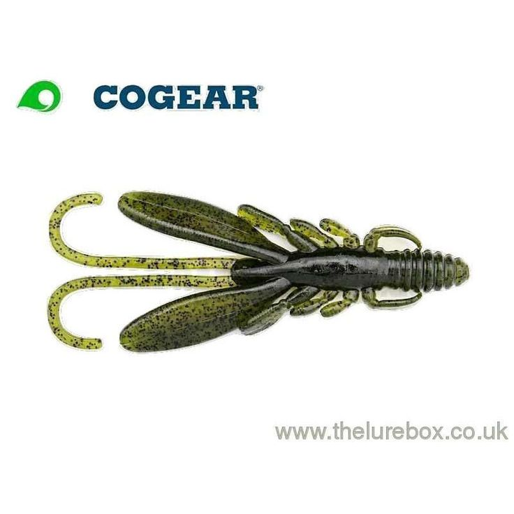 "Ecogear Bug Ants 2"" Watermelon Black Flake"