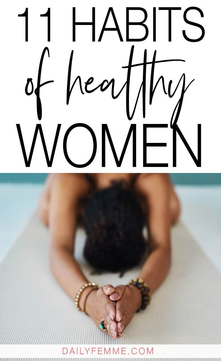 11 Habits of Healthy Women – The Inspiration Lady