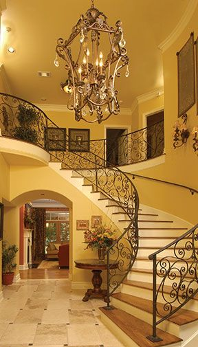 Two Story Foyer Or Not : Best images about two story entryway on pinterest