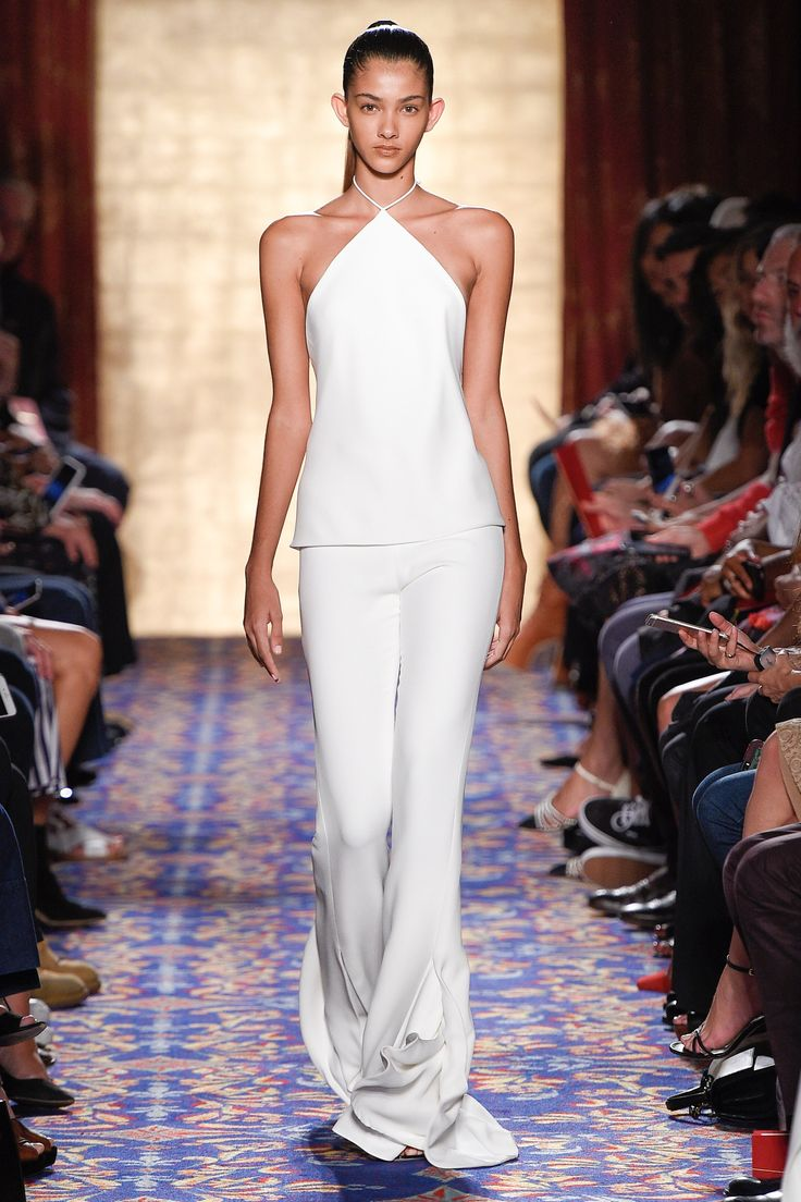 Brandon Maxwell Spring 2017 Ready-to-Wear Fashion Show - Brittany Noon