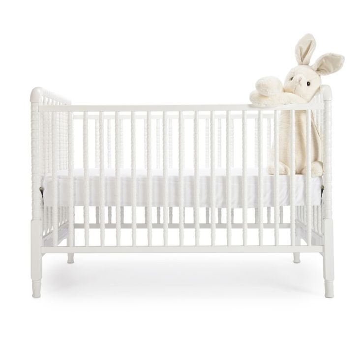 A timeless classic, our Jenny Lind crib is the perfect start to any nursery. Combining the charm of a traditional look with all the modern-day amenities, this crib features four adjustable mattress positions and can be easily converted to a toddler bed with a conversion kit (sold separately).The little details: Toddler rail and mattress sold separately. Made of solid Asian hardwood with a non-toxic finish. Appropriate for newborn to 2 years.