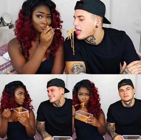 They a sexy ass couple 👅👅👅👅👅 Just made the prejudice bitches mad one time for da one time😂😂😂😂🙌🙌🙌