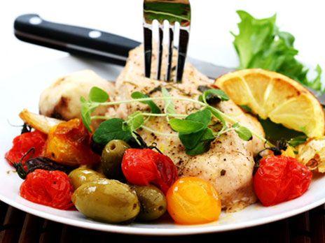 Ugnstekt kyckling med jordärtskocka | Recept.nu