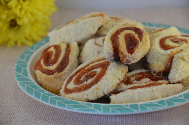 Rollitos dulce de membrillo / Quince rolls cookies