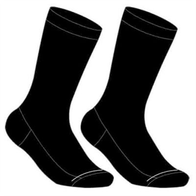 Holeproof Mens Socks Reinforced Circulation Crew 2 Pack