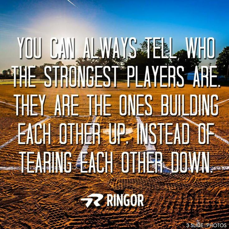 True because u will bring the whole team down i stead of trying to bring them up and u r tearing the team apart