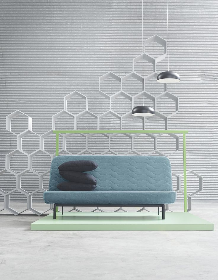 Make the living room work around the clock with NYHAMN sofa bed. It converts quickly into a bed with a click-clack mechanism. Find it at IKEA!
