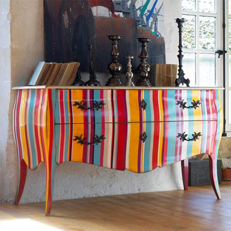17 migliori idee su mobili colorati su pinterest mobili funky unico e mobili turchese invecchiati - Mobili antichi colorati ...