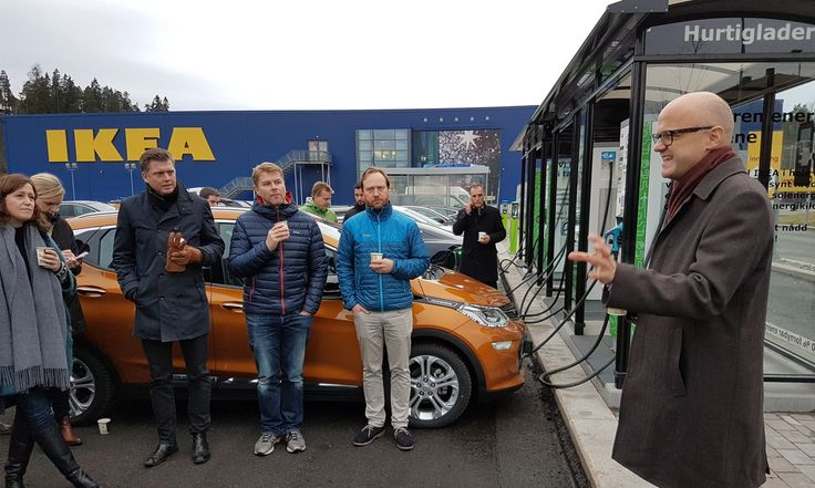 All IKEA Locations In Norway To Feature EV Fast-Charging Stations