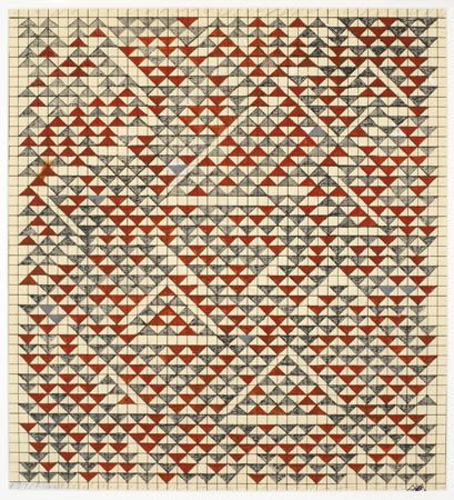 Anni Albers - Study for Camino Real, 1967
