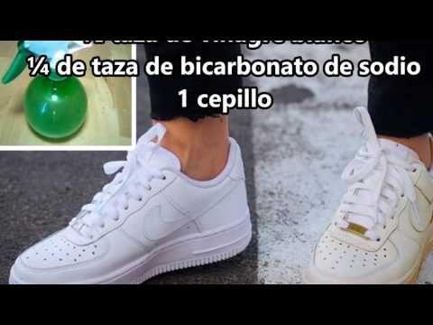 Con este truco y tendrás tus zapatillas blancas como recién compradas otra vez!! - YouTube