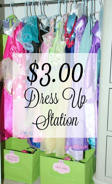 $3.00 Dress Up Station #ad #InspireBigDreams