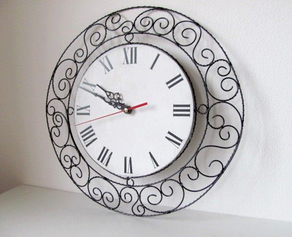 drátované hodiny