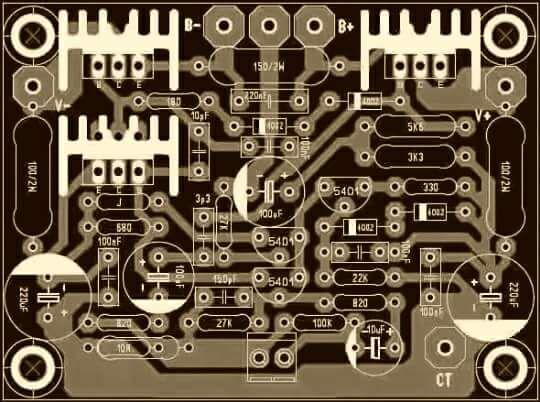 PCB SOCL HIGH VOLT
