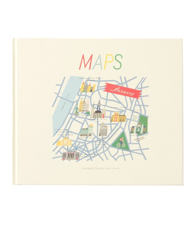 Maps Illustrated Cities Visual Travel Guide For Graduation Gift