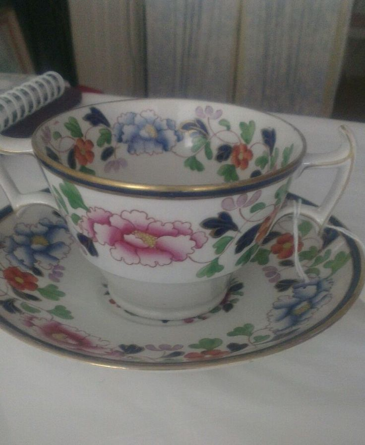 Rare Booths battersea cup and saucer
