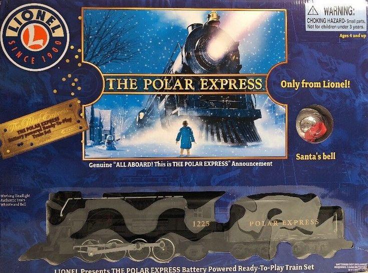 Lionel Polar Express Battery Powered Ready-To-Play Train Set 7-11803 NIOB  | eBay