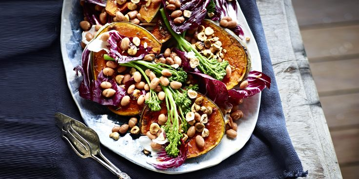 """Honey-roasted"" Pumpkin + Hazelnut Salad"