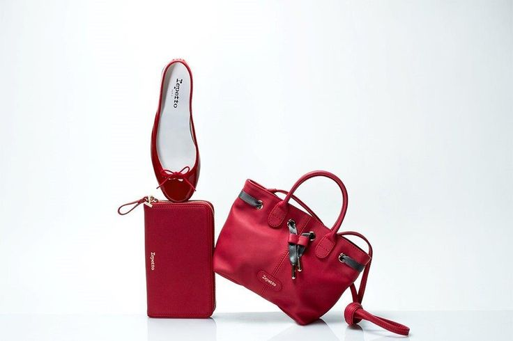 VALENTINE'S DAY Irresistible accessories available in flammy red and dragon red Repetto's accessories in dragon red: http://bit.ly/1Mg03Qu  Repetto's accessories in flammy red: http://bit.ly/19bVZS8