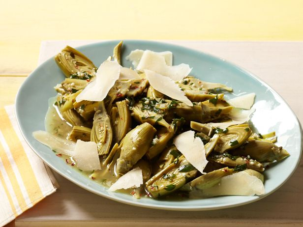 Braised Baby Artichokes from #FNMag: Food Network, Side Dishes, Network Magazines, Artichoke Recipes, Artichokes Recipes, Baby Artichokes, Brai Baby, Anne Burrel, Braised Baby