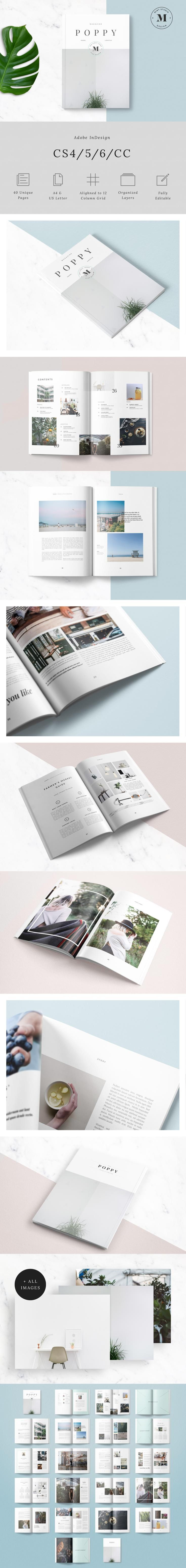 #magazine #design from Mint Studio | DOWNLOAD…