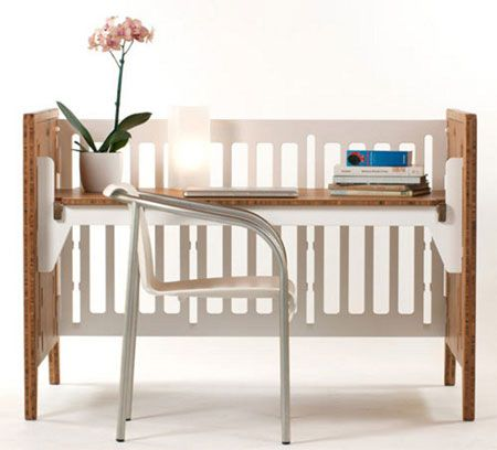 No need to pack away or toss out that old cot or crib, just recycle it!