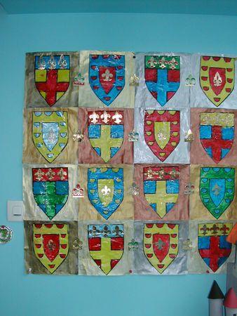 blasons pour rois et chevaliers Plus